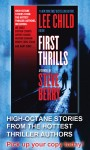 A Between the Lines Interview with First Thrills authors Lee Child, Steve Berry, Michael Palmer, Heather Graham, John Lescroart, and more