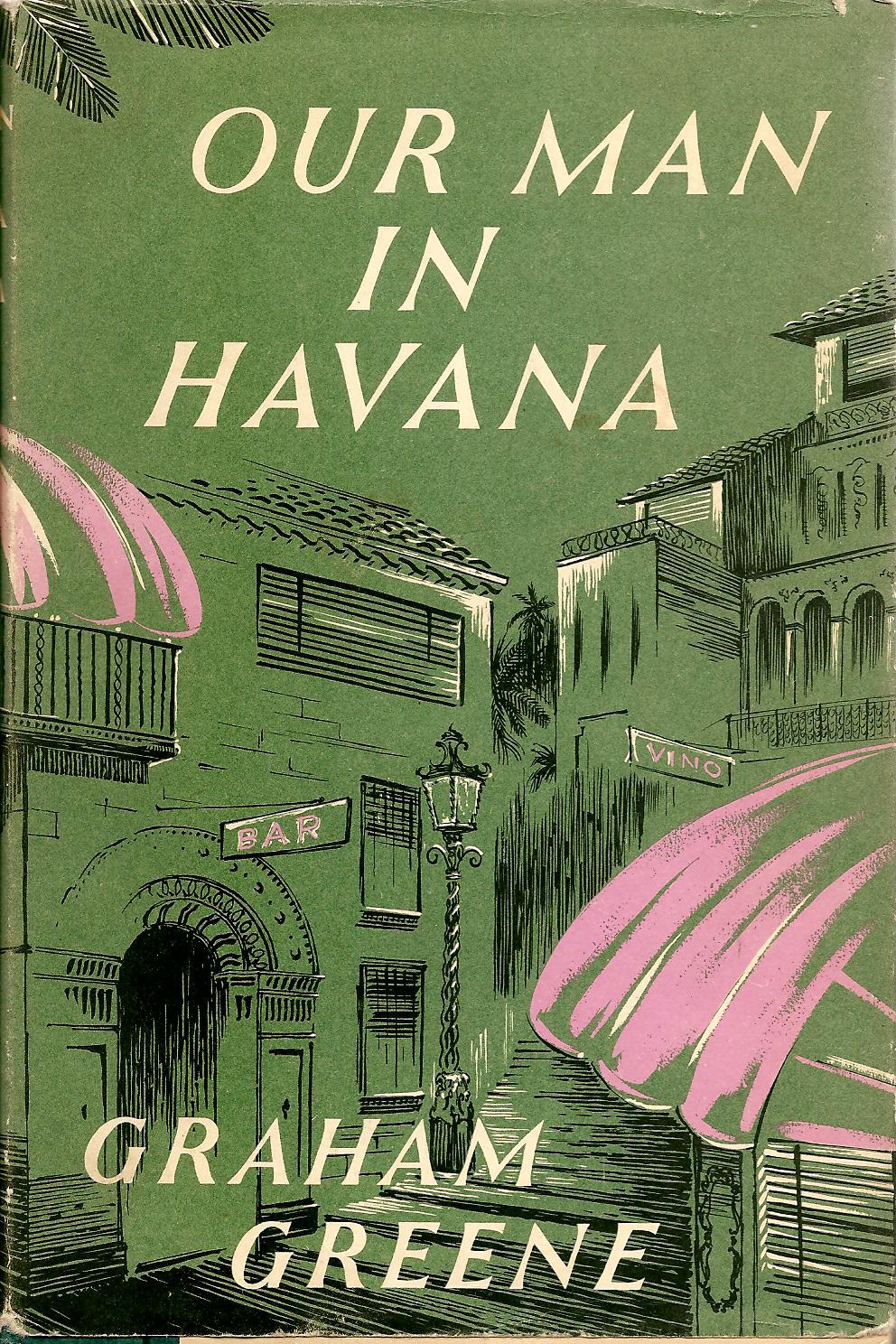 Image result for our man in havana book