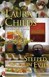 Steeped in Evil by Laura Childs