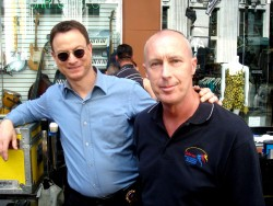 Gary Sinise and Colin Campbell
