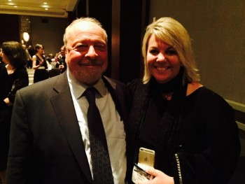 Nelson DeMille and Kimberley Howe