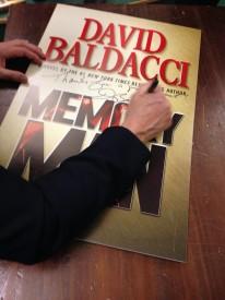 Baldacci candid_signing Memory Man