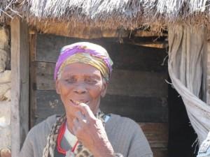 Bushman woman Photo Stan Trollip