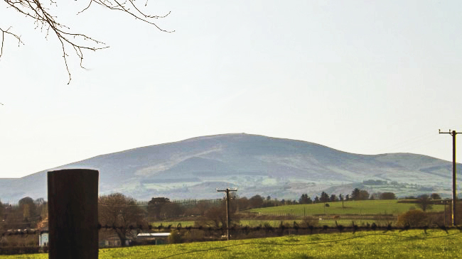 Slievenamon, Co. Tipperary- the mountain of the women.