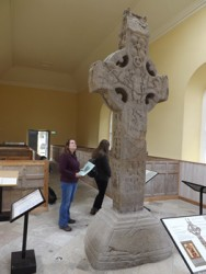 Powell and the Durrow High Cross. The cross dates from c850.