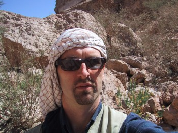 Paul Hardisty in Yemen