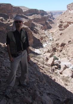 Wadi Ravine with Paul