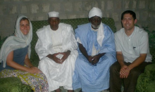 Todd and his wife with the Grand Imam in Timbuktu