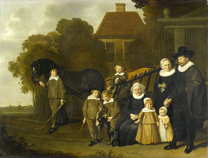 Meebeeck Cruywagen Family by Van Loo
