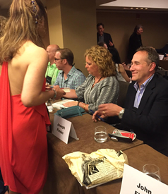 ***caption: Signing at Thrillerfest****
