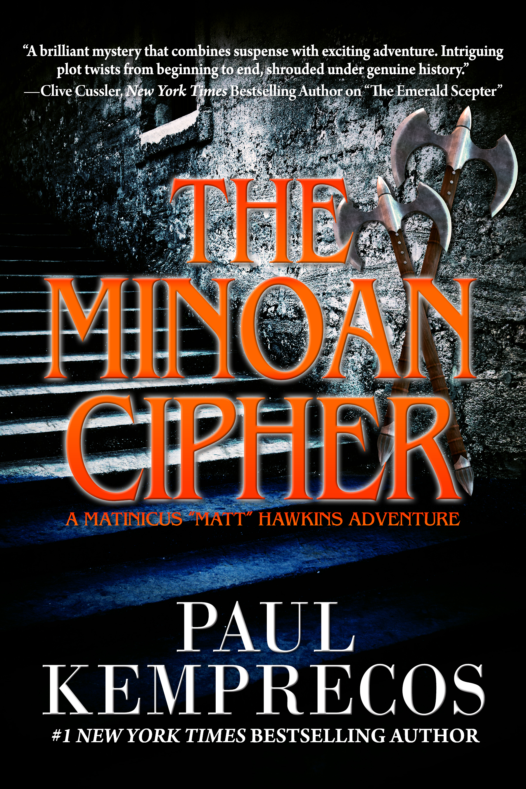 The Minoan Cipher Cover 2016.08.01