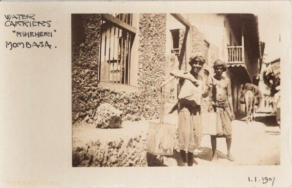 Postcard from Mombasa in 1907