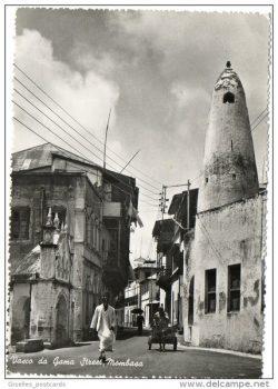 Vasco de Game Street postcard